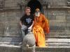 Nepal: Bezoekje pa, ma en Robin